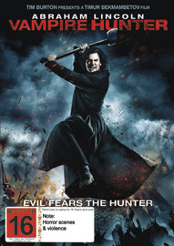 Abraham Lincoln: Vampire Hunter on DVD