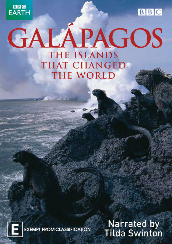 Galapagos: The Islands that Changed the World on DVD
