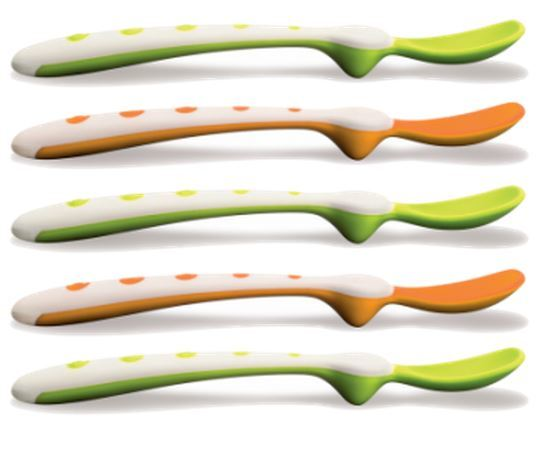 NUK: Rest Easy Spoons (5 Pack) image