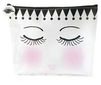 Miss Etoile: Fabric Pouch - Eyes Closed