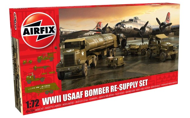 Airfix 1:72 USAAF Bomber Resupply Set - Model Kit