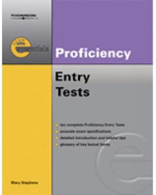 Exam Essentials: Proficiency Entry Test by Mary Stephens image