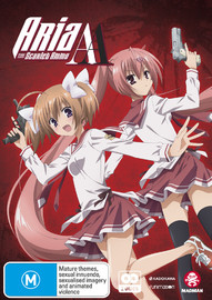 Aria The Scarlet Ammo AA - Complete Season 2 on DVD