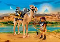 Playmobil: History - Egyptian Warrior with Camel image