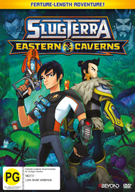 SlugTerra: Eastern Caverns on DVD