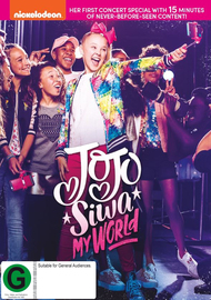 Jojo Siwa: My World on DVD image