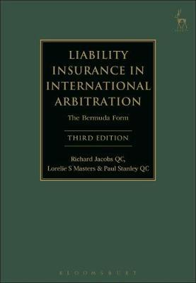 Liability Insurance in International Arbitration by Richard Jacobs, Qc image