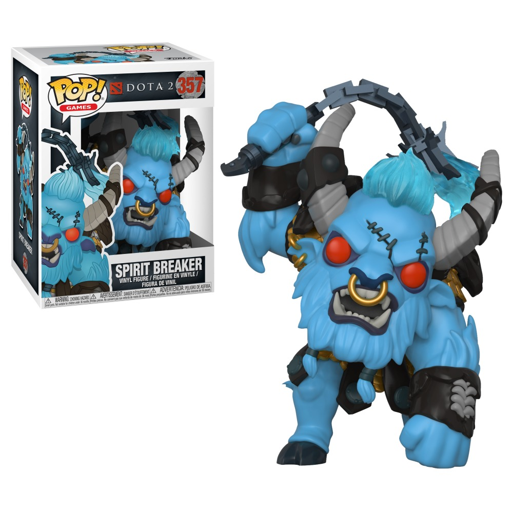 Spirit Breaker Pop Vinyl Figure At Mighty Ape Australia Bott Funko The Witcher Geralt Image Dota 2