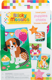 The Orb Factory: Sticky Mosaics Travel Pack - Puppies