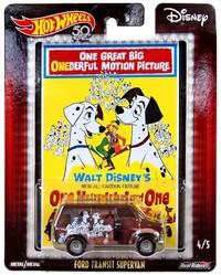 Hot Wheels: Entertainment Character Car - 101 Dalmatians