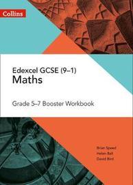 Edexcel GCSE Maths Grade 5-7 Workbook by Brian Speed image