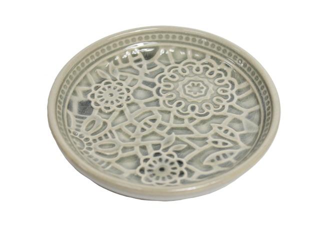 Botanic Dark Grey Dish (12cm)