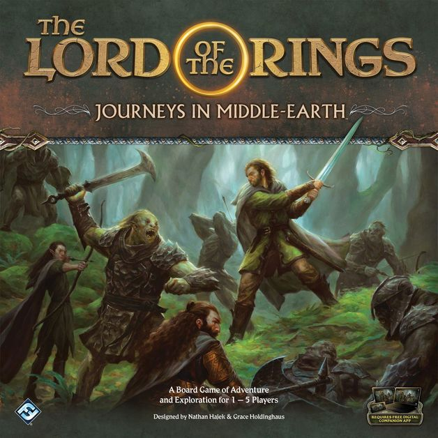 Lord of the Rings: Journeys in Middle Earth - Board Game