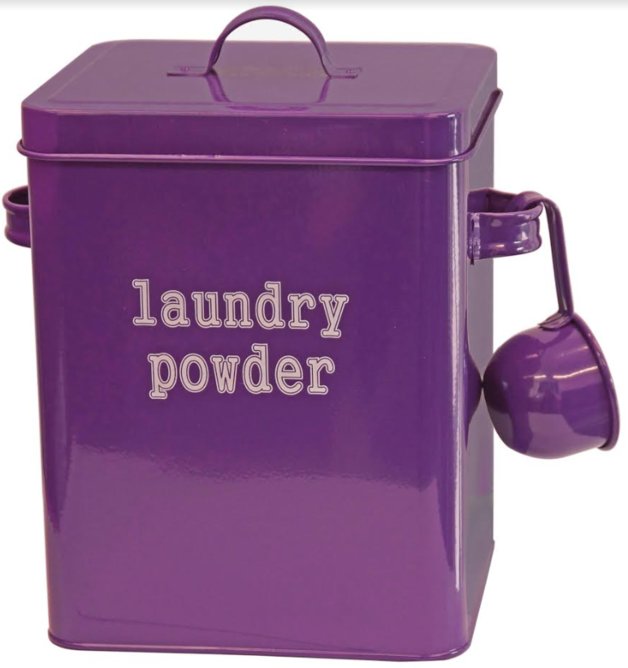 Laundry Canister - With scoop