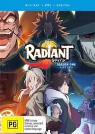 Radiant: Part 2 (Eps 13-21) DVD / Blu-ray Combo (Limited Edition) on DVD, Blu-ray