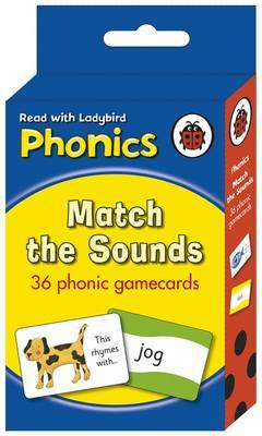 Phonics Flashcards: 36 Fun Phonic Game Cards by Ladybird image