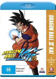 Dragon Ball Z Kai Collection 1 on Blu-ray