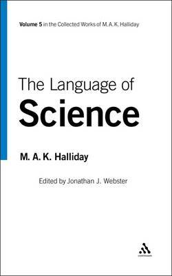 The Language of Science by M.A.K. Halliday image