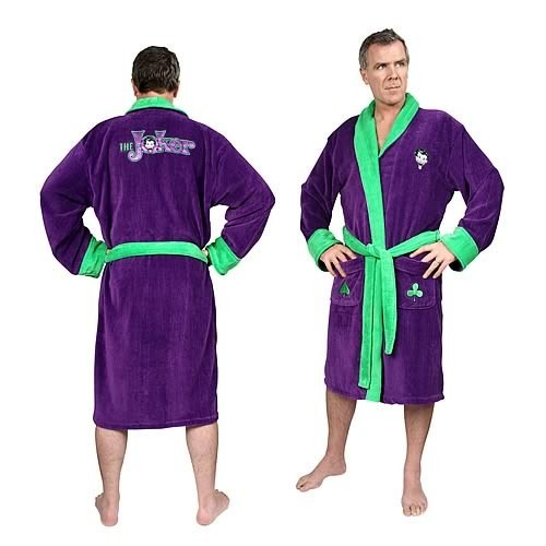 Batman Bath Robe | Men\'s | at Mighty Ape NZ