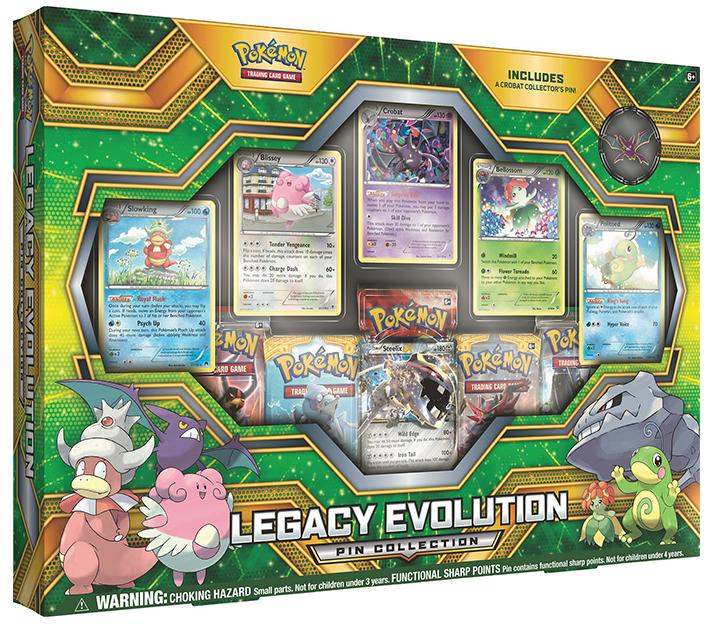 Pokemon TCG Legacy Evolution Pin Collection image
