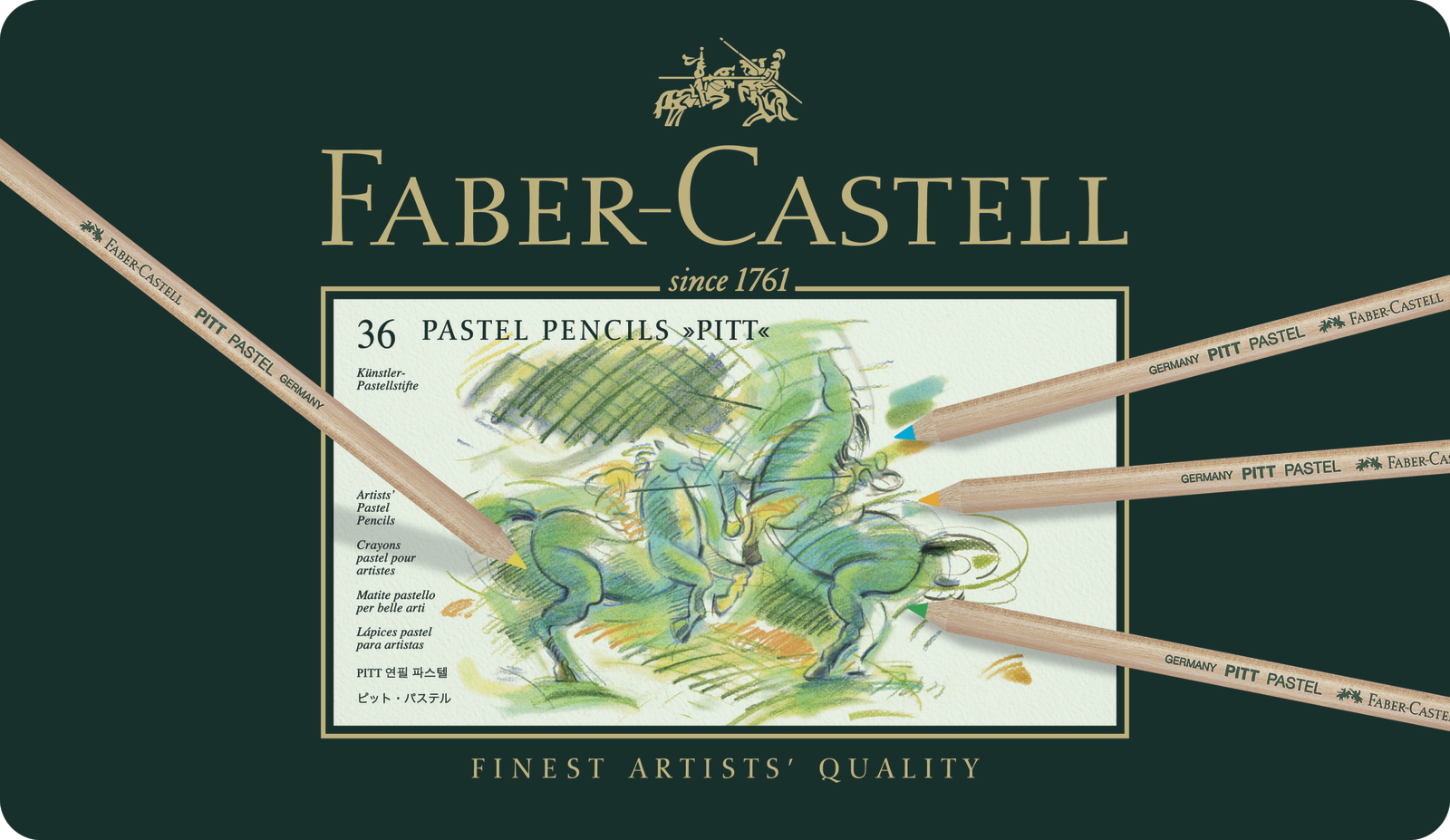 Faber-Castell: Pitt Pastel Pencil (Tin of 36) image