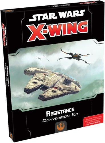 Star Wars X-Wing Second Edition Resistance Conversion Kit image