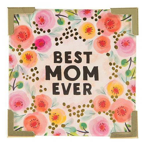 Natural Life: Corner Magnet - Best Mom Ever