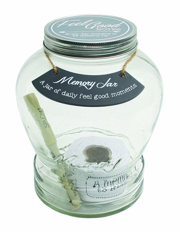 Memory Keepsake Jar - Feel Good