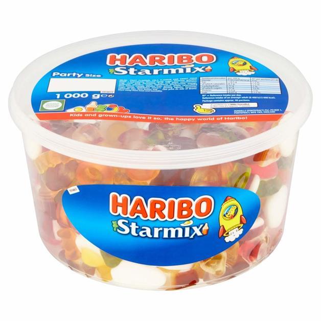 Haribo Starmix Sharing Drum (1kg)