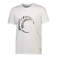 Silver Ferns Graphic Mens Tee - White (XL)