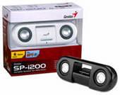 GENIUS SP-I200 PORTABLE SPEAKER BLACK