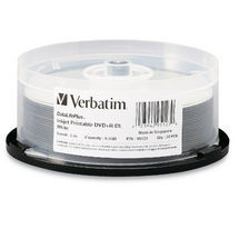 Verbatim DVD+R DL 8.5GB 20Pk Spindle White InkJet 2.4x