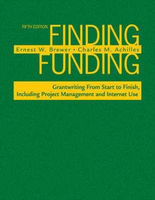 Finding Funding by Ernest W. Brewer image