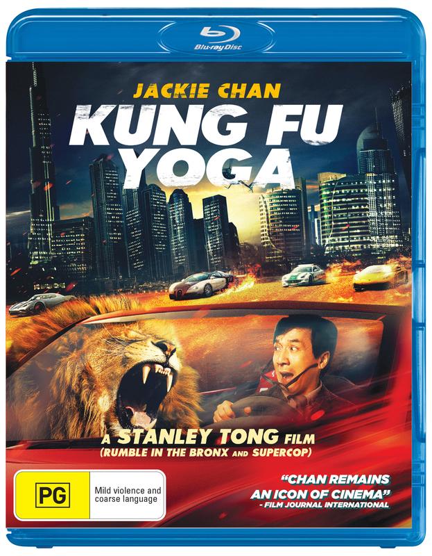 Kung Fu Yoga on Blu-ray