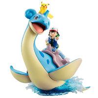 Pokemon: G.E.M. - Ash, Pikachu & Lapras
