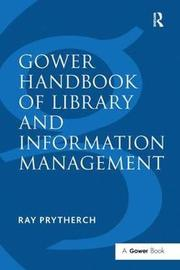 Gower Handbook of Library and Information Management image