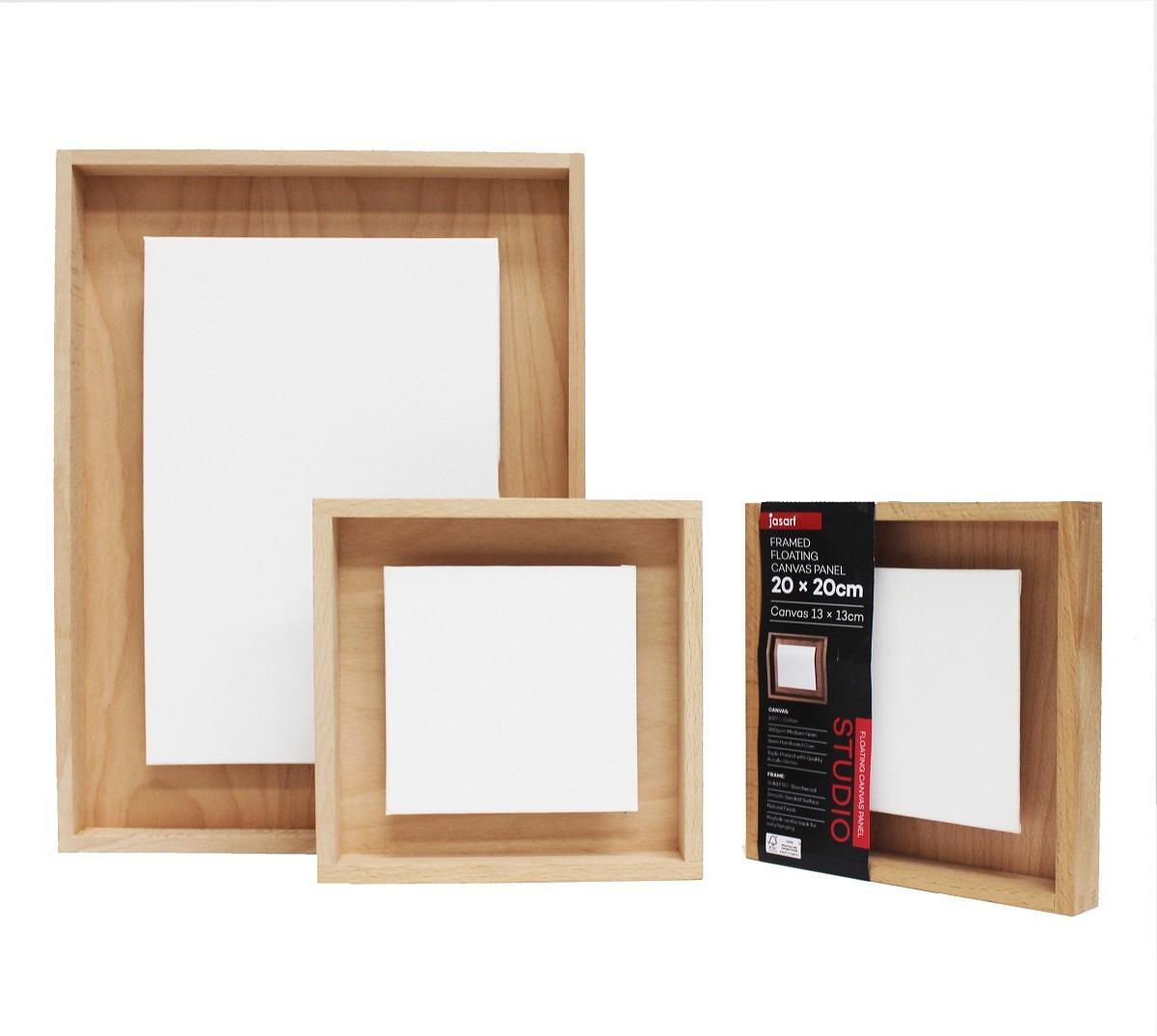 Jasart: Framed Floating Canvas Panel image