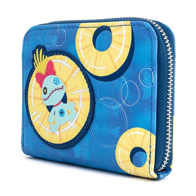 Loungefly: Disney Lilo and Stitch Pinneapple Floaty Scrump Wallet