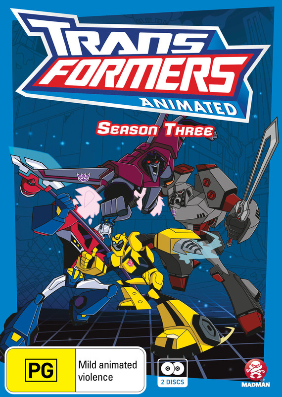 Transformers Animated - Season 3 on DVD