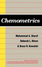 Chemometrics by Muhammmad A. Sharaf image