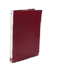 FM A4 20 Pocket Display Book - Burgundy
