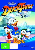 DuckTales - Vol. 1 on DVD