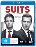 Suits - Season Two on Blu-ray