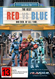 Red vs. Blue: The Best DVD Ever. Of All Time. on DVD
