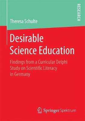 Desirable Science Education by Theresa Schulte