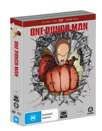One Punch Man - The Complete Season 1 (4 Disc Set) DVD