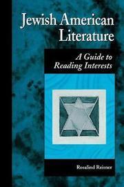 Jewish American Literature by Rosalind Reisner image