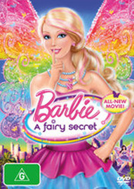 Barbie: A Fairy Secret on DVD