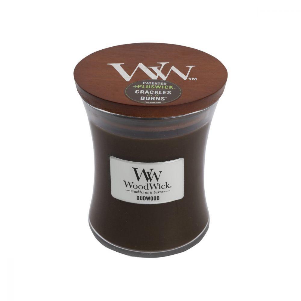 Woodwick Candle - Oudwood (Medium) image