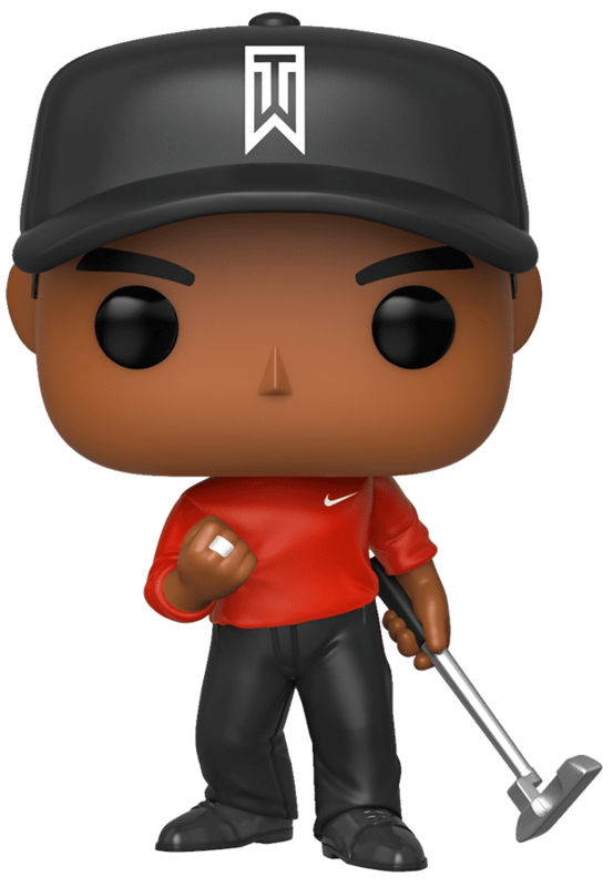 Golf - Tiger Woods (Red Shirt) Pop! Vinyl Figure